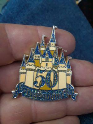 50 yr pin Walt Disney world for Sale in Denver, CO