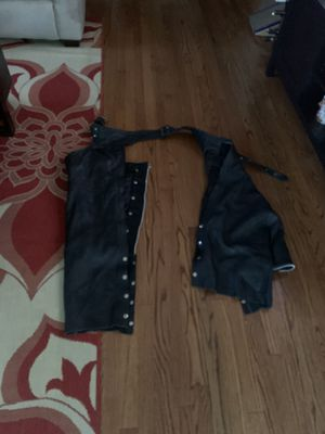 Leather riding chaps for Sale in Dania Beach, FL
