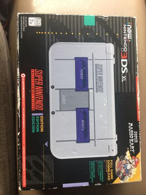 New Nintendo 3DS XL Console SNES Edition Brand New for Sale in Arlington, TX