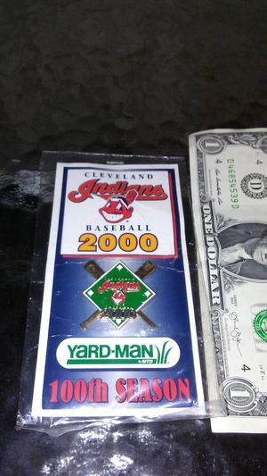Cleveland Indians Chief Wahoo 100th season pin for Sale in Cleveland, OH