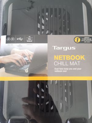 Targus Dual Fan Netbook Chill Mat for 10.2 inch netbook/notebook for Sale in Hereford, AZ