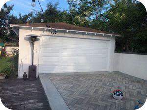Garage door and opener 16 x 8 for Sale in Phillips Ranch, CA