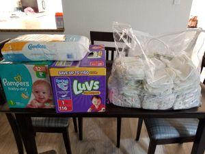 Diapers size 1 for Sale in Coronado, CA