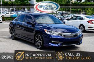 2017 Honda Accord Sedan for Sale in Miami, FL