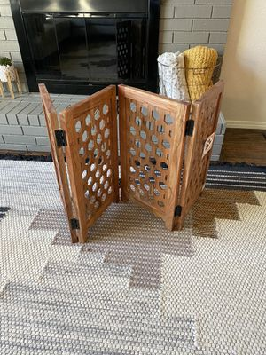 Solid Wood Pet Fence or Pet Gate for Sale in Sand Springs, OK