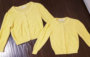 Mommy and me cardigan sweaters (women's large/child 10/12) for Sale in Monrovia, CA