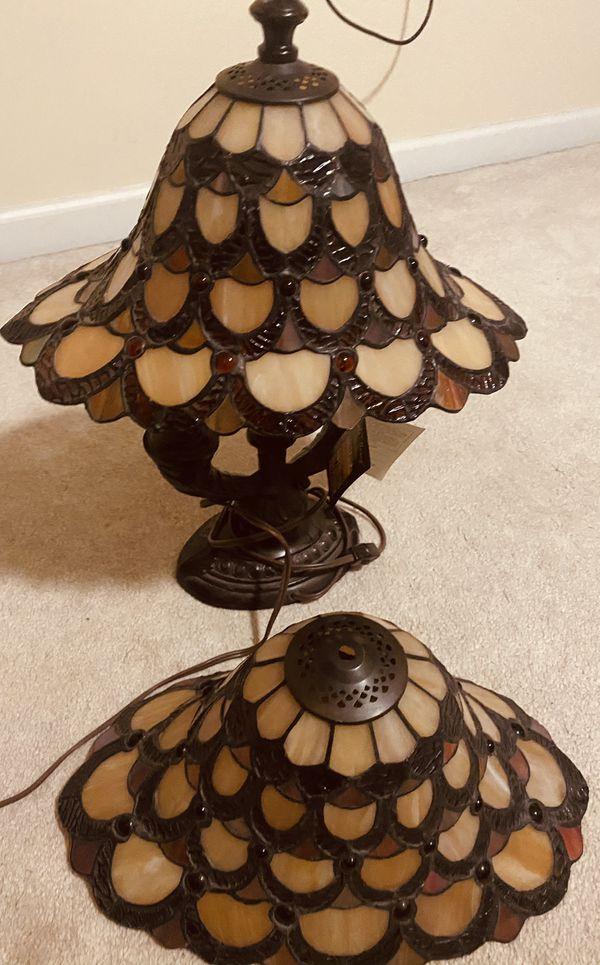 2 Dale Tiffany Lamps