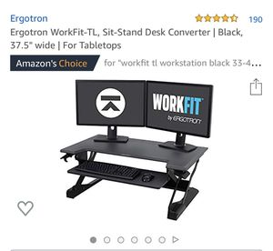 Sit Stand Desk for Sale in Glendale, AZ