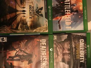 Xbox one games bundle perfect gift for Sale in Miami Gardens, FL