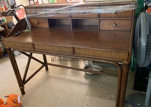 Vintage bamboo writing desk for Sale in Culver City, CA