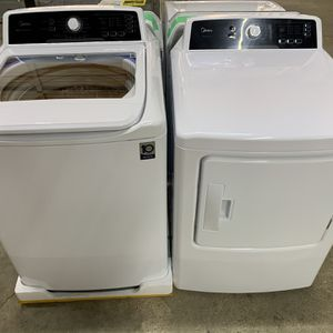 NEW Budget Friendly Top Load Washer and Dryer Set! WE FINANCE, No Credit Checks! for Sale in Houston, TX