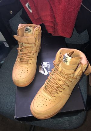 wheat Air Force 1s. for Sale in Fort Washington, MD