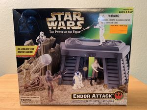 Star Wars Power Of The Force Endor Attack Playset for Sale in Poway, CA