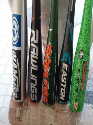 Baseball bats for Sale in Thornton, CO