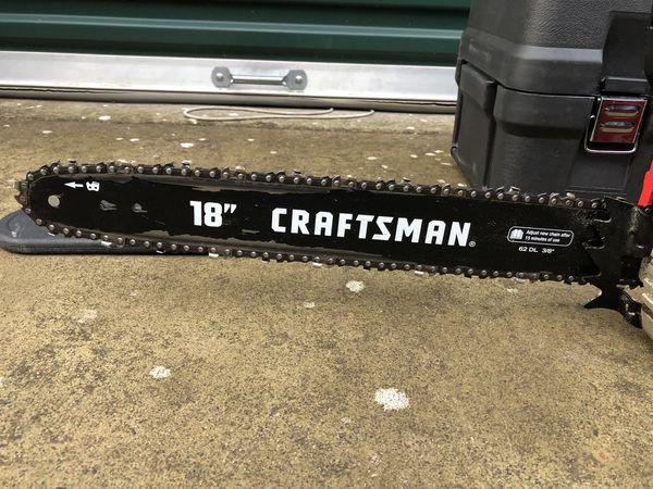 Craftsman Gas Chainsaw