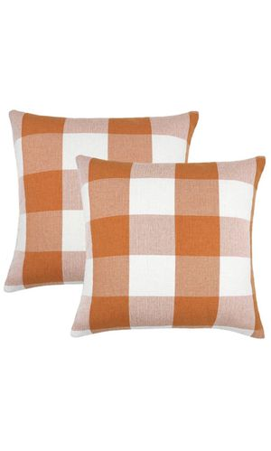 Brand new Pillow Covers Buffalo Plaid Fall (pair) for Sale in Los Angeles, CA