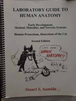 Human Anatomy Lab Manual Part 1 for Sale in Fontana, CA