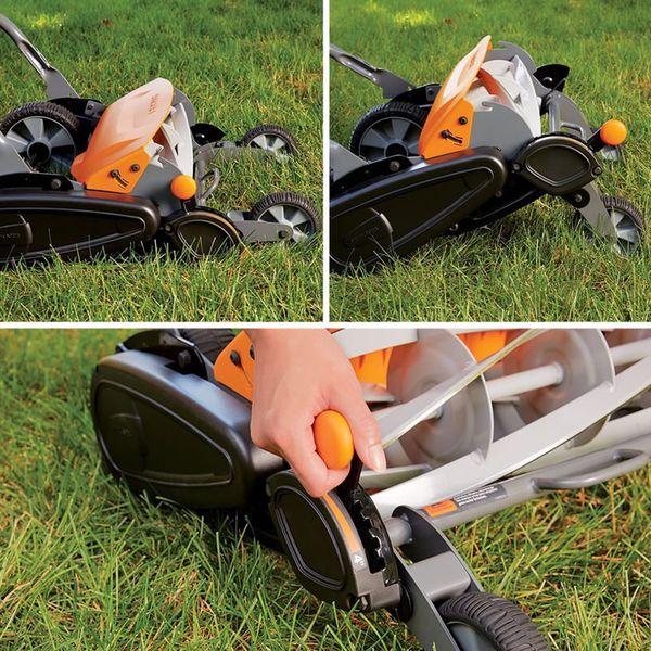 """Fiskars StaySharp Max 18"""" Reel Mower for Sale in Fayetteville, AR - OfferUp"""