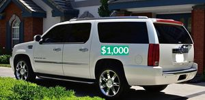 🎁 FOR SALE 🎁2OO8 Cadillac Escalade'Suv 🔥 Clean title $1,OOO for Sale in Coral Gables, FL
