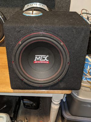 10 inch Mtx ported box! $60 OBO for Sale in Portland, OR