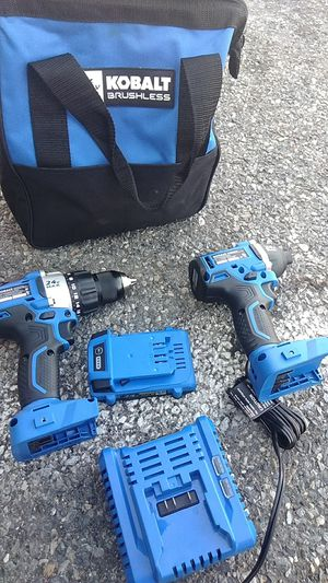 24v driver and impact brushless for Sale in Bedford, VA