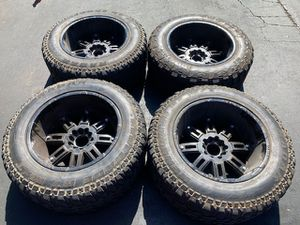 "(4) 20"" Wheels 35x12.50R20 Renegade M/T - $525 for Sale in Santa Ana, CA"