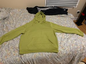 Adidas sweater and green sweater for Sale in Meriden, CT
