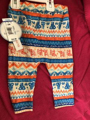 Baby jogger Pants, new with tags and have sizes 3/6 months and 9/12 months for Sale in Monterey Park, CA