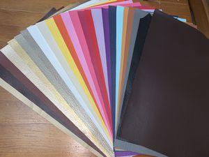 Sintetic leather 24 pcs for Sale in Auburn, WA