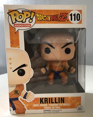 Krillin Funko POP (Dragonball Z) for Sale in Torrance, CA