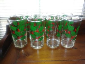 Christmas glasses for Sale in Albany, GA
