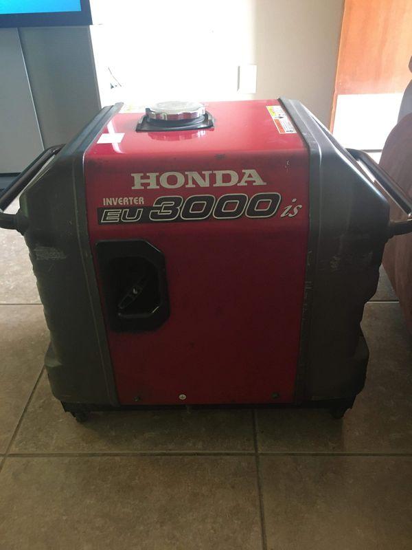 Honda generator EU3000is