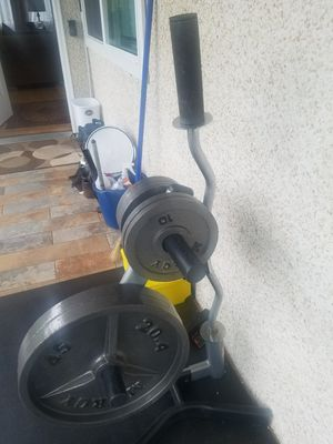 Olympic weights and barbells for Sale in Burien, WA