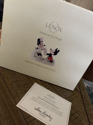 Disney Mickey and Minnies Dream Proposal Engagement Figurine by Lenox for Sale in Mount Laurel Township, NJ