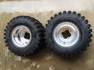 Yamaha rear wheels and tires for Sale in Turlock, CA