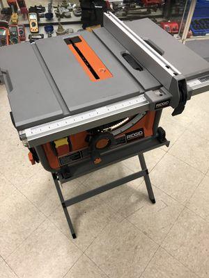 ridgid table saw for Sale in Austin, TX