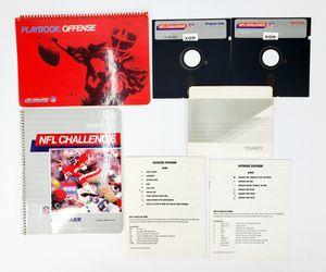 "Vintage NFL Challenge - 5.25"" Floppy Disks, Manual etc. (1985) - IBM PC Tandy for Sale in Trenton, NJ"