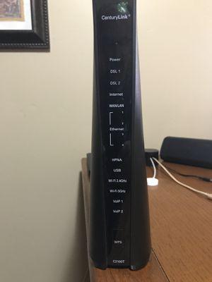 CenturyLink Technicolor C2100T DSL Modem Router for Sale in Phoenix, AZ