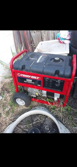 Troybilt generator needs work for Sale in Tampa, FL