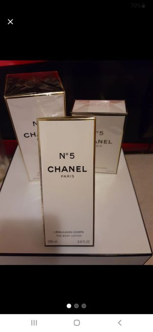 Chanel no 5 body scent collection for Sale in Seattle, WA