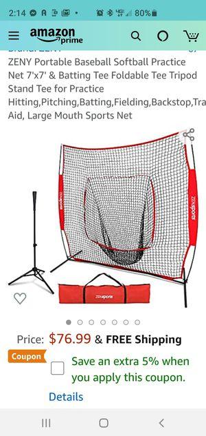 Zeny brand Baseball training net NEW for Sale in Huntington Beach, CA