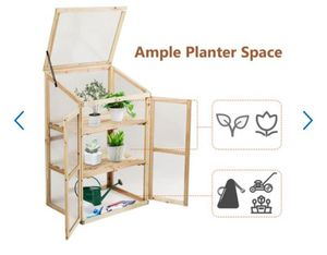 Greenhouse Planter House - in box new for Sale in Ontario, CA