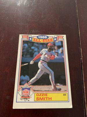 Ozzie Smith baseball card for Sale in Long Beach, CA