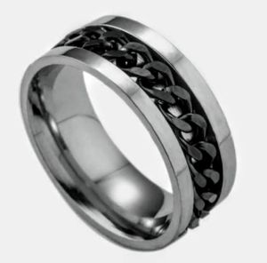 NWT Stainless Steel Spinner Ring Sz 10 for Sale in Wichita, KS