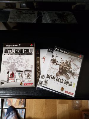 PS2 Metal Gear Solid trio cd game for Sale in Lake Stevens, WA