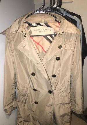 Burberry Authentic Trench coat for Sale in Marietta, GA