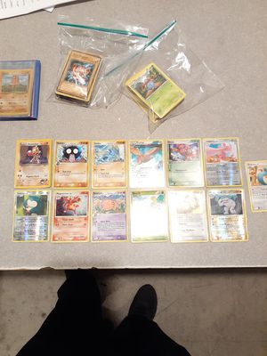 90+ Yugioh/Pokemon Cards 1995-2015 $75 SUPER FIRM for Sale in Cleveland, OH