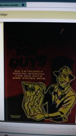The Guide For Guys: An Extremely Useful Manual, 2007 for Sale in Fayetteville, NC