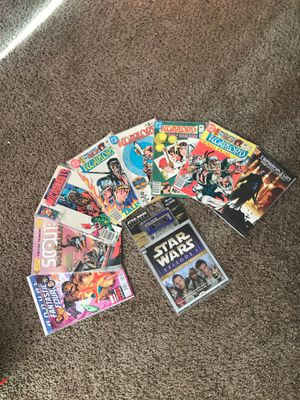 Comic Books & Star Wars Read Along Cassette collectible for Sale in Rio Rancho, NM