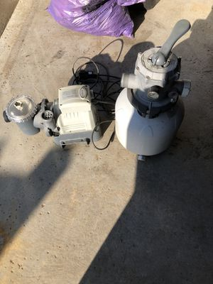 Sf80110 pool pump & filter for Sale in Lowell, MA